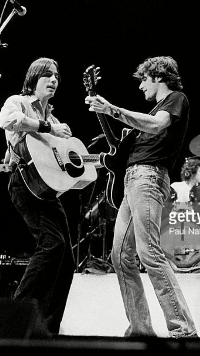 Jackson Brown & Glenn Frey Rockin'