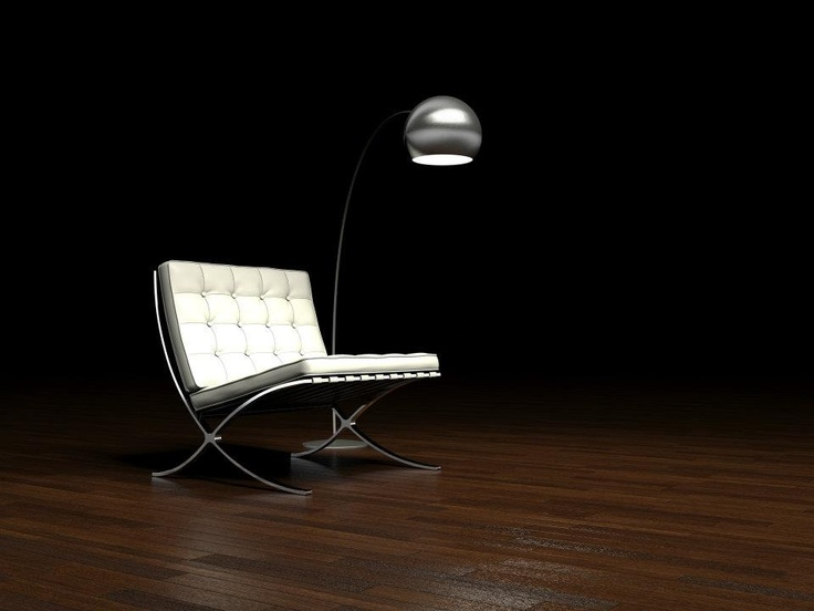 Barcelona armchair by Ludwig Mies van der Rohe