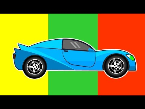 racing cars hot wheels blue car on the track
