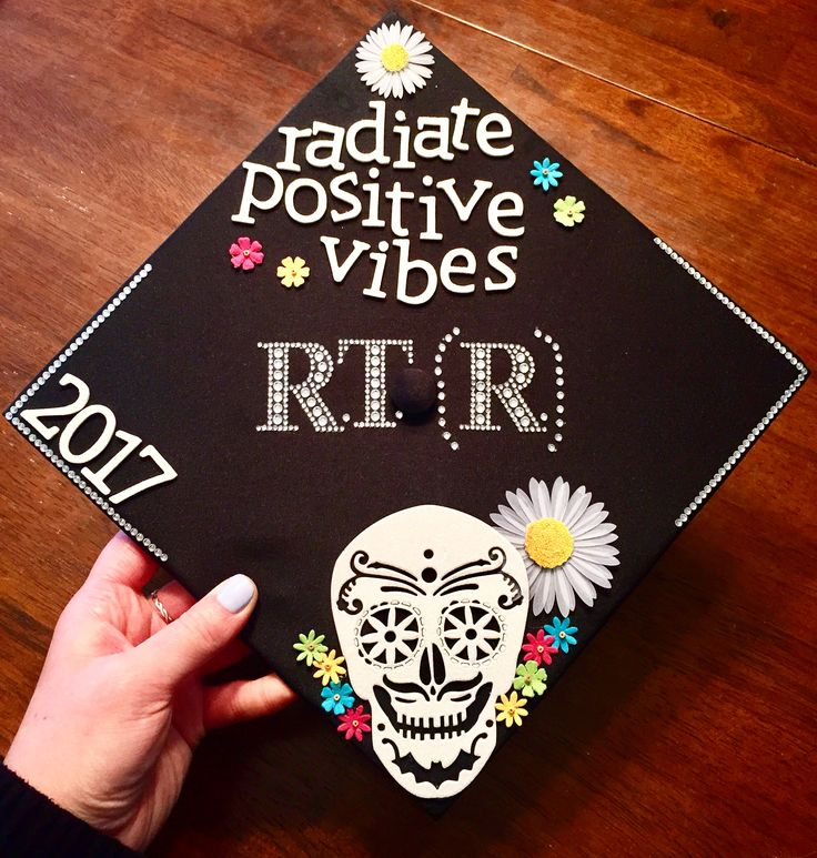 Radiology graduation X-ray