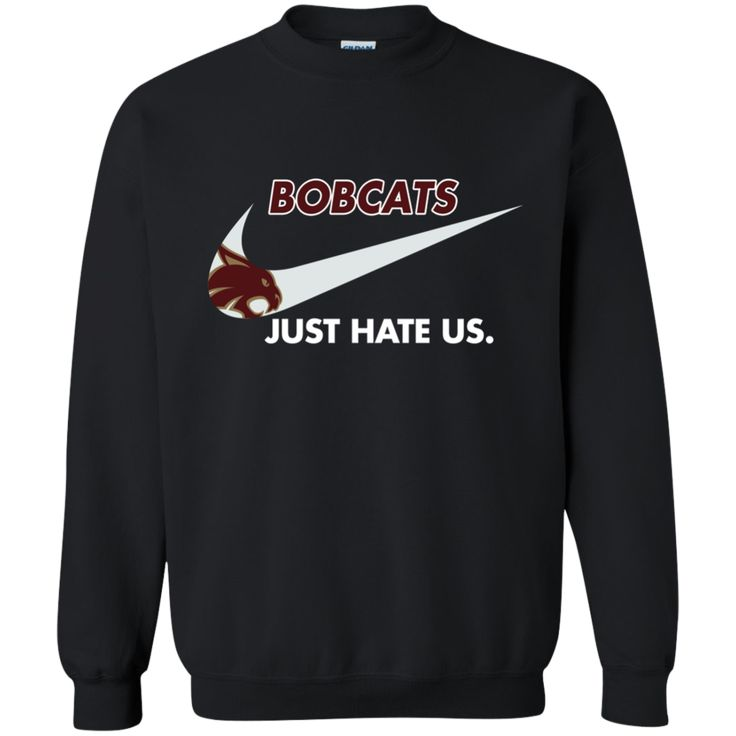 Texas State Bobcats T shirts Just Hate Us Hoodies Sweatshirts