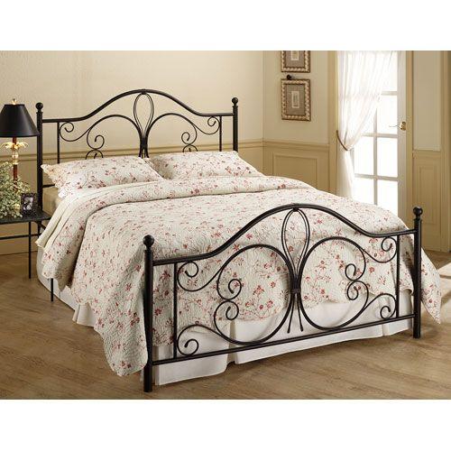 Milwaukee Antique Brown Queen Complete Bed Hillsdale Furniture Queen Standard Beds Bedroom