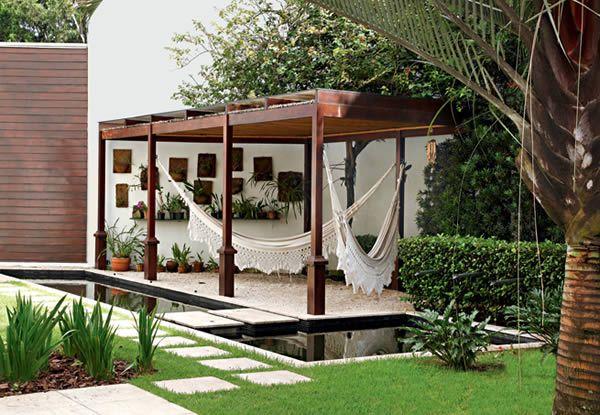 Qualquer espaço pequeno pode receber um jardim