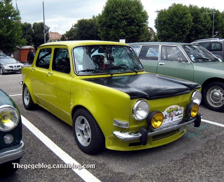 SIMCA 1000 RALLYE (1970-1972)