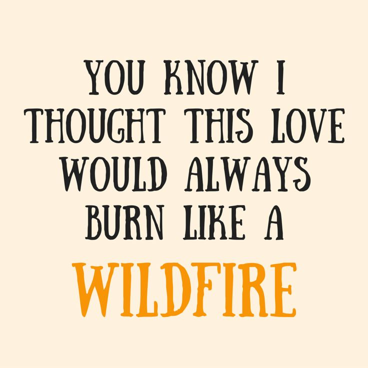 Wildfire // Marianas Trench