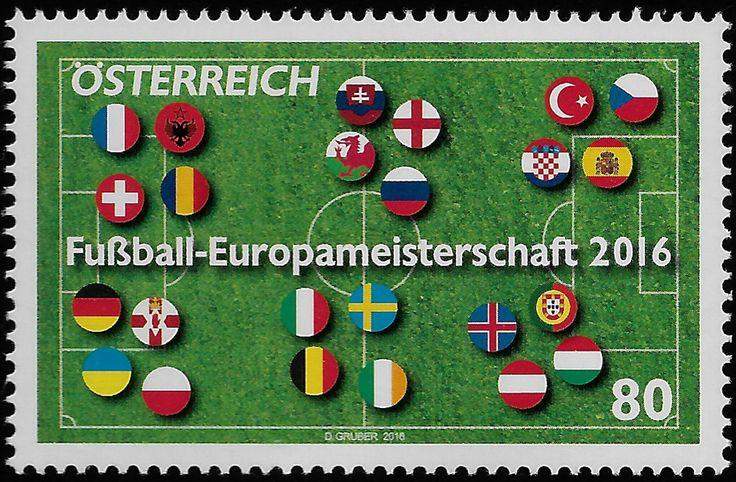 Bélyeg: European Football Cup, France (Ausztria) Mi:AT 3273