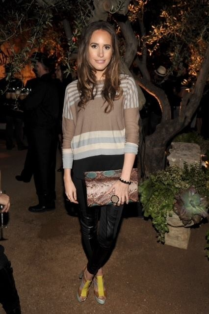 The lovely Louise Roe at the Restoration Hardware party last week in RD style. http://piprl.me/HaEE6F  #style  #beauty #fashion #couture #designer #HauteCouture