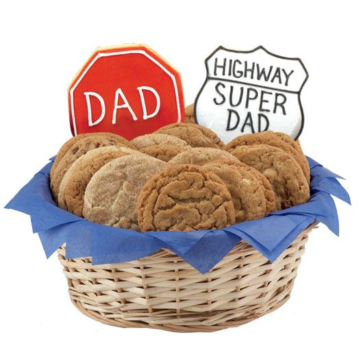 38 best celebrate fathers day images on pinterest cookie looking for a great fathers day gift send him cookies this gift basket includes gourmet cookiesgluten free negle Image collections