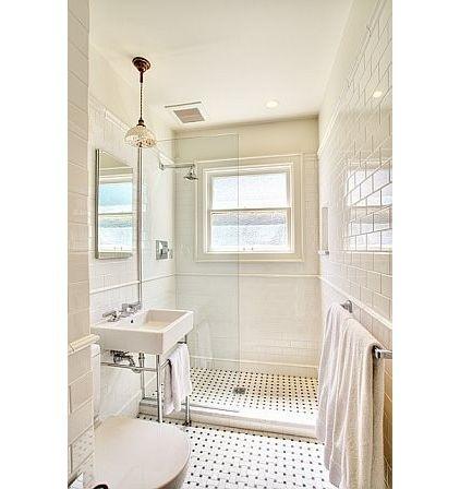 Curbless Shower In Lieu Of Tub Renovation Bathroom