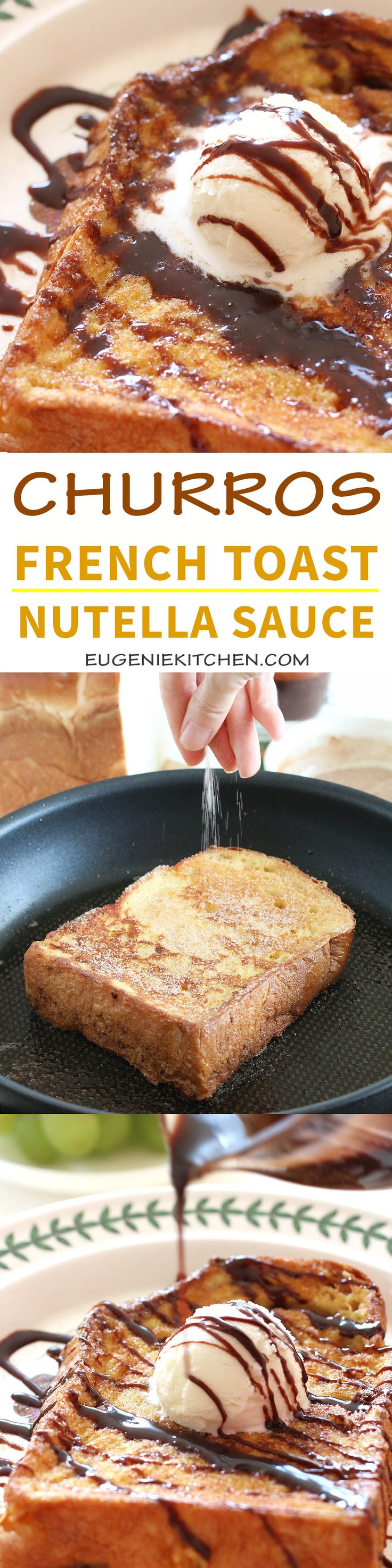 nutella sauce churros french toast with nutella sauce make this in