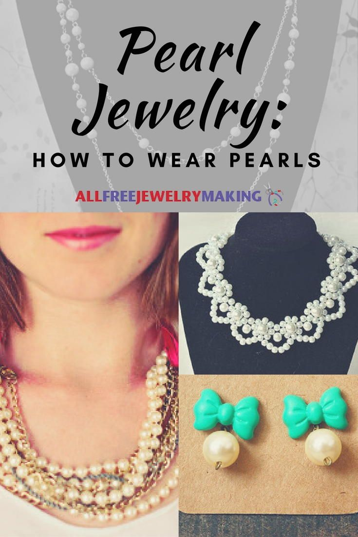 Best 89 DIY Pearl Jewelry images on Pinterest
