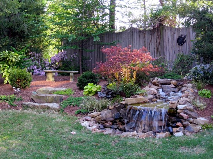 27 best backyard water feature images on pinterest for Do it yourself pond