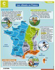 Fiche exposés : Les climats en France