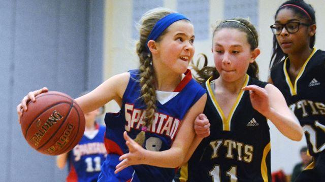 Newmarket hosts Oakville in Ontario U12 Basketball