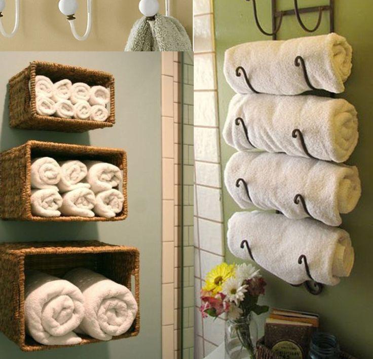 Small Bathroom Towel Storage stunning ideas for towel storage in small bathroom images - 3d