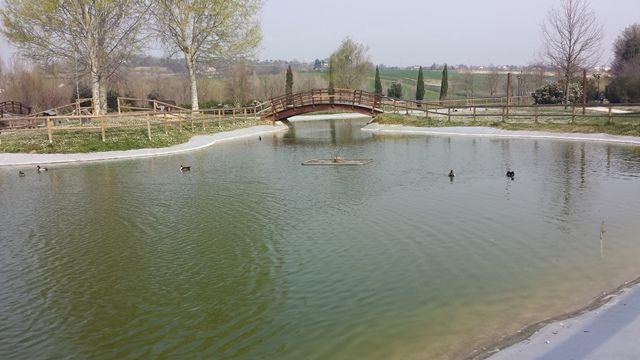 Morciano di Romagna, parco urbano del Conca