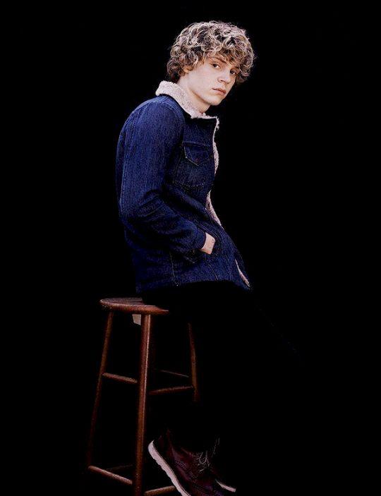 Evan Peters #photoshoot