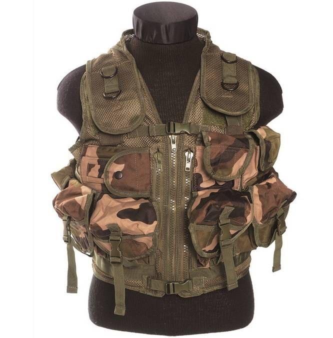 Mil-Tec Einsatzweste Tactical, 9-Taschen, CCE / mehr Infos auf: www.Guntia-Militaria-Shop.de