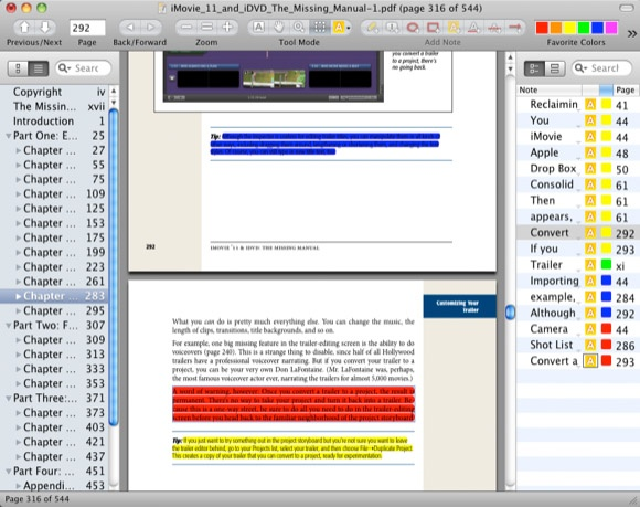 Skim Pdf reader and note taker #productivity