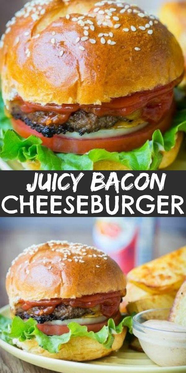 Bacon Cheeseburger Cheeseburger Recipes Homemade Burger Recipes Beef Bacon Cheese Burger Recipe