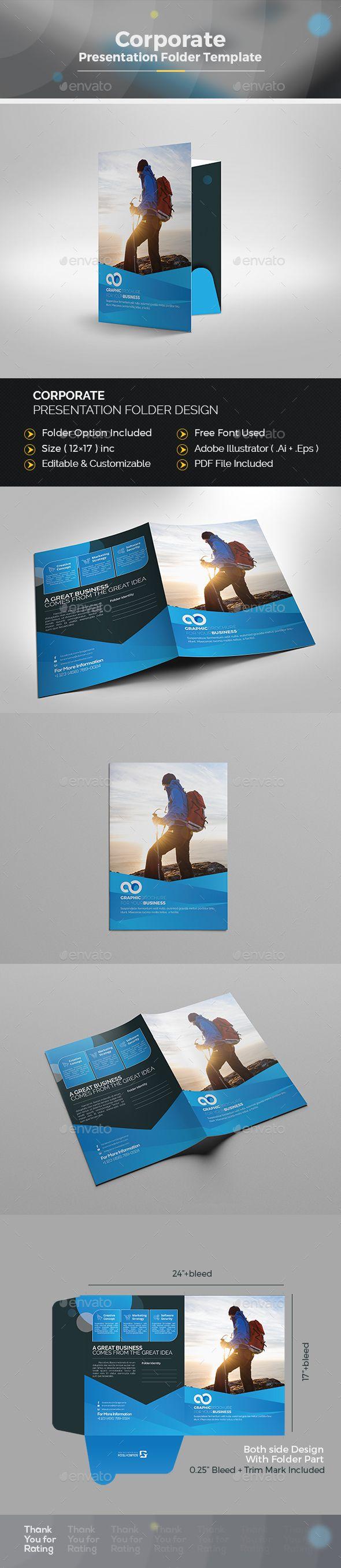 56 best presentation folder images on pinterest | presentation, Presentation templates