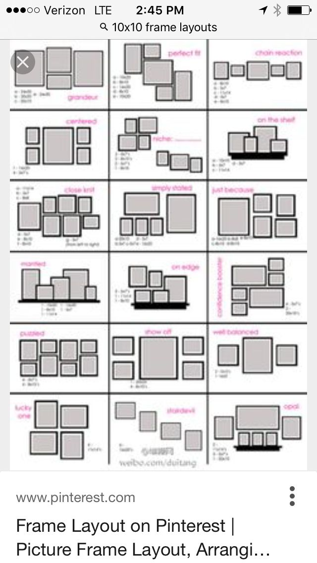 30 best Picture Hanging Layout Ideas images on Pinterest   Home ...