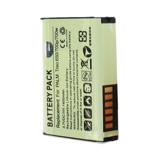 Palm Treo 650 700p 700w Li-ion Battery - myaccessoryguy