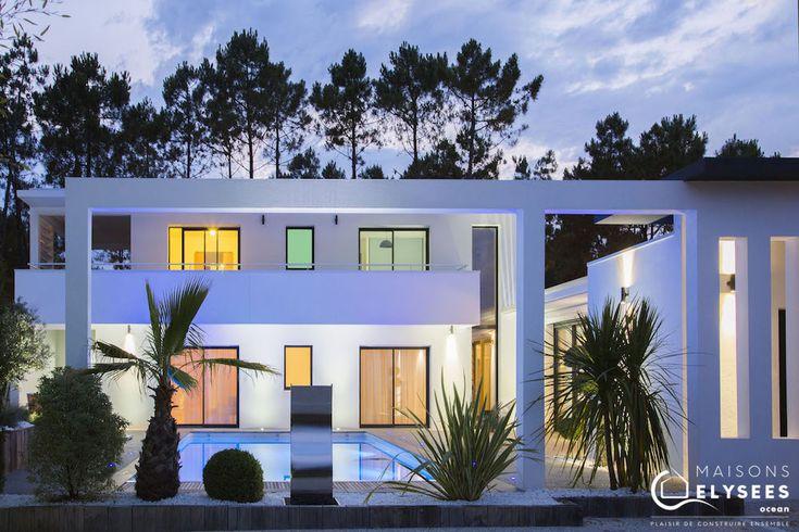Villa contemporaine d 39 exception style californien http for Architecte villa contemporaine