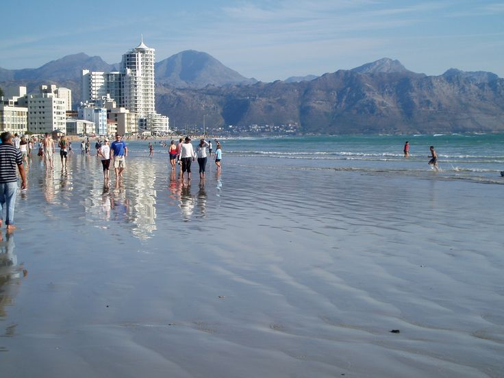 Strand beach strollers....they start appearing from just after 06h00 in summer until up to 21h00 at night...as sunset is at about 20h30. #strand #beachstrollers #strollers #beach