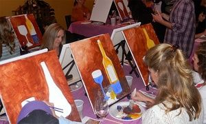 Best 25 paint and sip ideas on pinterest beginner for Groupon wine and paint