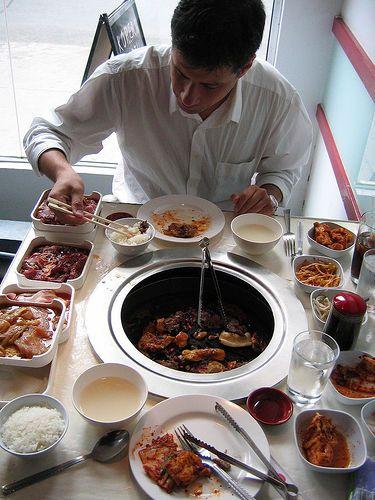 Korean BBQ on Queen Street West, Toronto