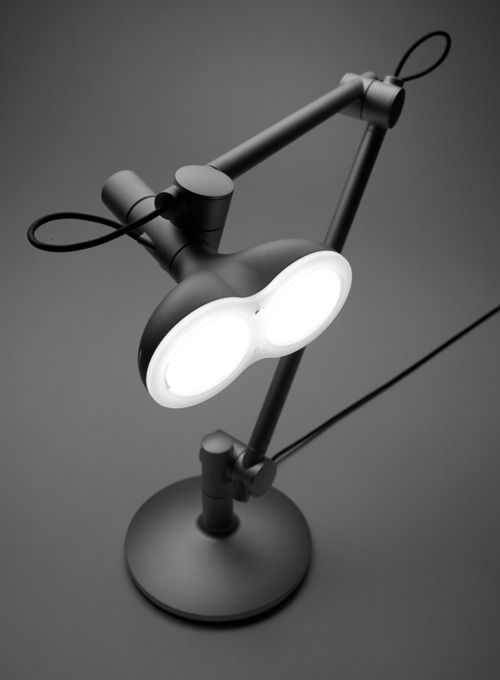 A beautiful LED lamp designed by studioLobot