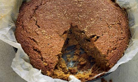 Hugh Fearnley-Whittingstall's recipe for Jamaican ginger cake. Photograph: Colin Campbell/Guardian