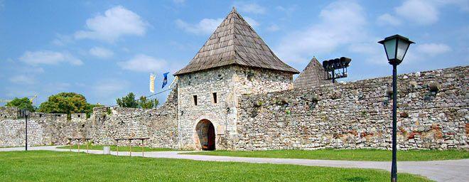 Fortress Kastel, Banja Luka, Bosnia and Herzegovina.