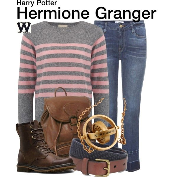 Inspired by Emma Watson as Hermione Granger in the Harry Potter franchise