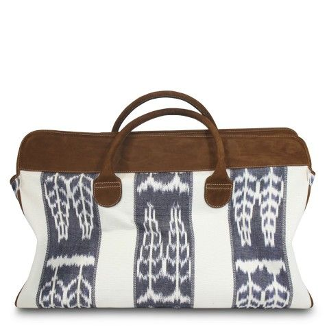 Ikat Weekend Bag