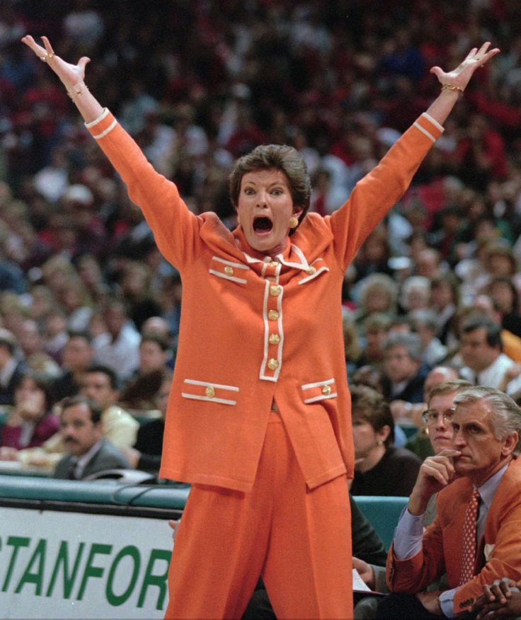 PAT SUMMITT. Loved her passion VFL