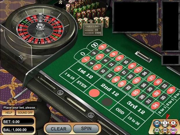 american roulette real money