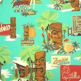 Alexander Henry Tiki Fabric  I need a shirt made  from this print material!