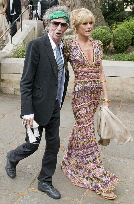 June 2008 - Keith Richard and Patti Hanson