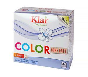 Klar Клар Стиральный порошок концентрат для цветного белья гипоаллергенный 1,375 кг
