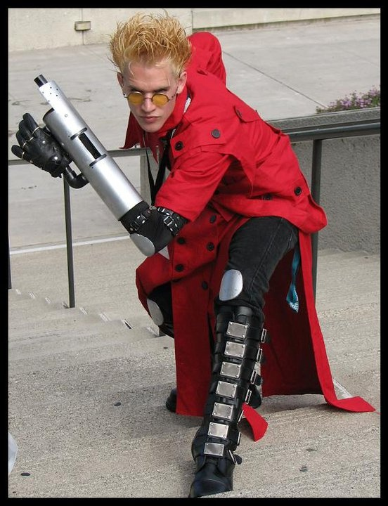 Anime Expo 2007 Vash From Trigun Cosplay Its Just A Photo I Took Of Cosplayer Not Actually Me BTW