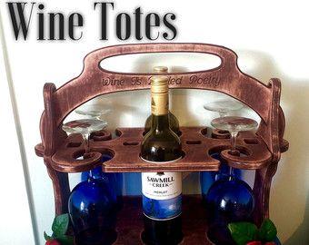 Totalizador del vino personalizado Caddy vino por Imagineeringshop