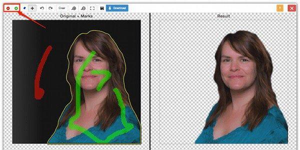 how to make image background transparent online