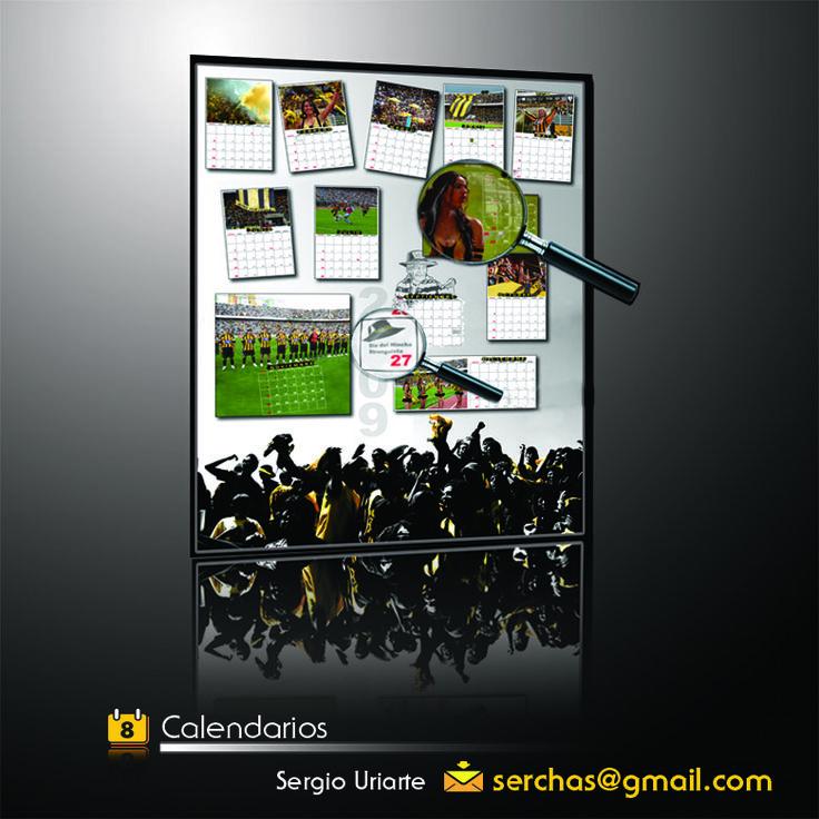 Calendario 2009 elaborado para la hinchada del Tigre