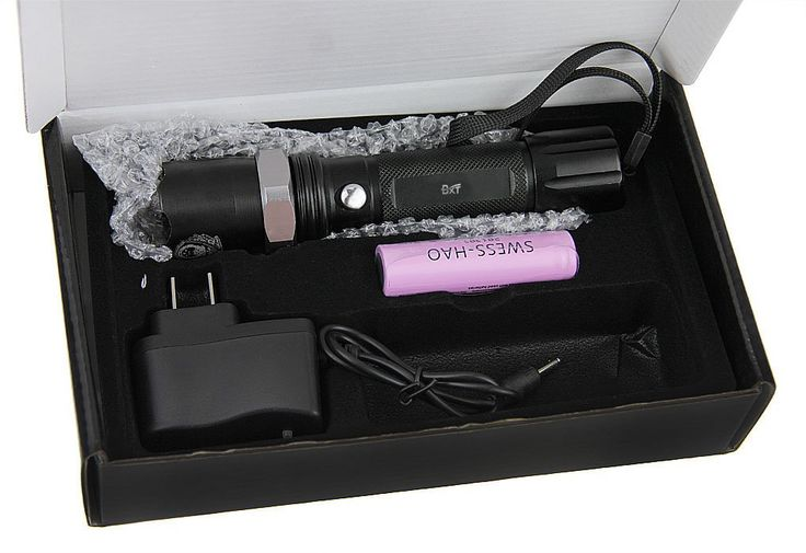 Greenery New Police SG Mode Cree Led Flashlight 800 Flashlight. This product is made of aluminum alloy;It is waterproof and shockproof;It uses the LUXEON 3 Watt LED bulb which lasts up to life 100,000 hours. The product was powered by 1pc 18650 rechargeable batteries (4000mah),the charger is very easy to take. Rotate the head to adjust zoon dimmer. Push-button tail cap switch,Three levels of output:First push into the high light output of production,the second push into low light output...