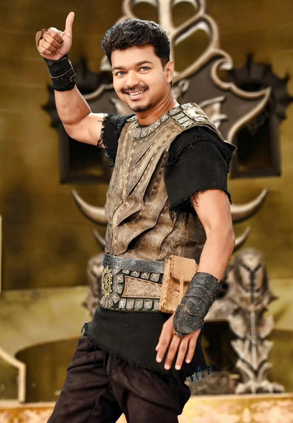 "A promo song from Vijay's ""Puli"" has been released."