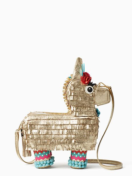 haute stuff penny the piñata bag, multi, large