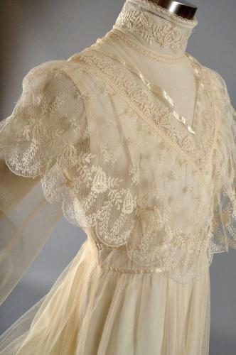 ヴィンテージウエディング、アンティークドレス、Gunne Sax、ビンテージドレスショップ-Barbara