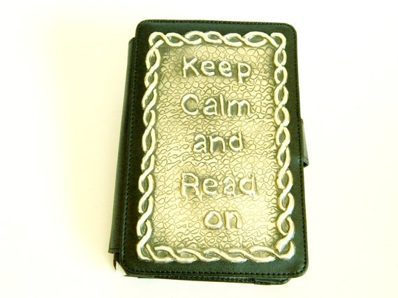 Kindle 3 Case Keep Calm Celtic Knot by Loutul on Etsy, £29.00